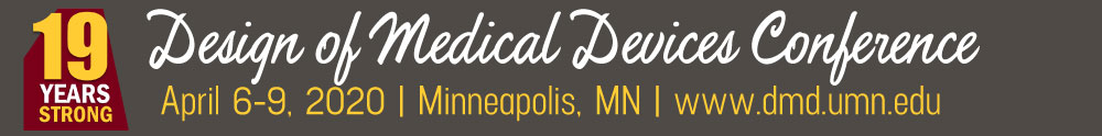 2020 Design of Medical Devices Conference
